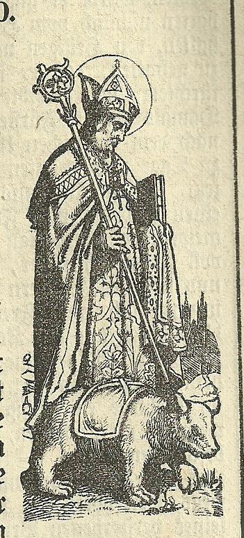 Quelle: Georg Ott, Legende von den lieben Heiligen Gottes, Regensburg 1884