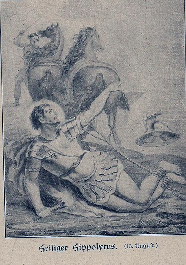 Q.: Goldene Legende Leben der lieben Heiligen Gottes auf alle Tage des Jahres, Wilhelm Auer, Matthäus Vogel,1904